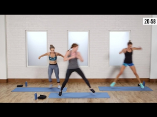 45-Minute Cardio and Toning Workout From Jennifer Lawrences Trainer ¦ Class FitSugar