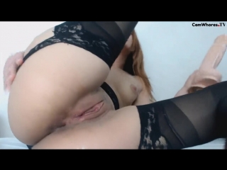 I open my ass with my biggest dildo