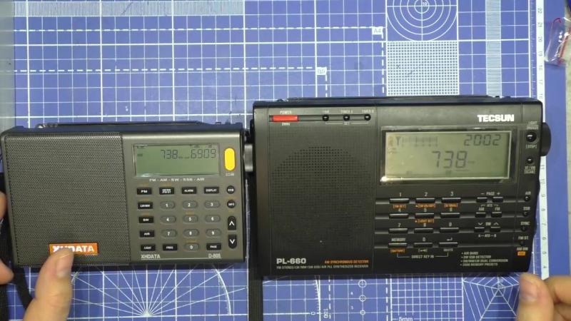 HAM Radio Channel XHDATA D-808 Обзор радиоприемника