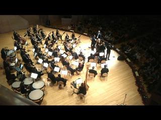 Концерт молодых звёзд Большого театра и театра Ла Скала: арии из русской и итальянской оперы.