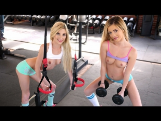 Step brother catches lesbian step sisters eating pussy [bella rose, piper perri] [blonde, hardcore, teen, threesome, hd]