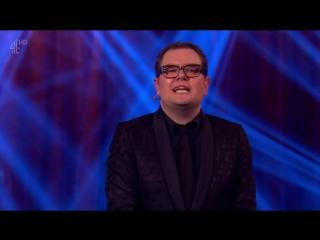 Alan Carr's Happy Hour 1x03 - Noel Fielding, Michelle Keegan, Robert Rinder, Robbie Williams, John Legend