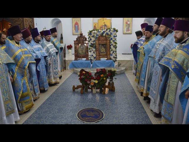 Торжество! Урюпинская Явленная! Праздничная Божественная литургия в Покровском соборе. 2017