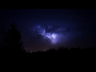 Heavy Thunderstorm Sounds | Relaxing Rain, Thunder & Lightning Ambience for Sleep | HD Nature Video