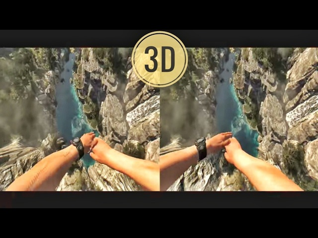 🔴 VR Acrophobia 3D Jump from Mountain VR Google Cardboard VR Box 360 Virtual Reality Video 3D SBS