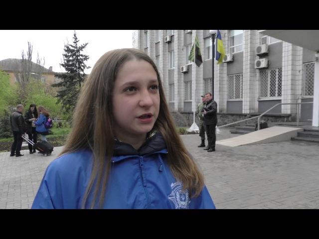 Поліцейські відправили дітей з прифронтової Донеччини на відпочинок до Закарпа