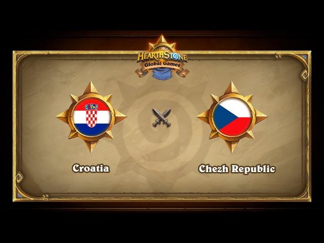 Croatia vs Chezh Republic Hearthstone Global Games Group Stage