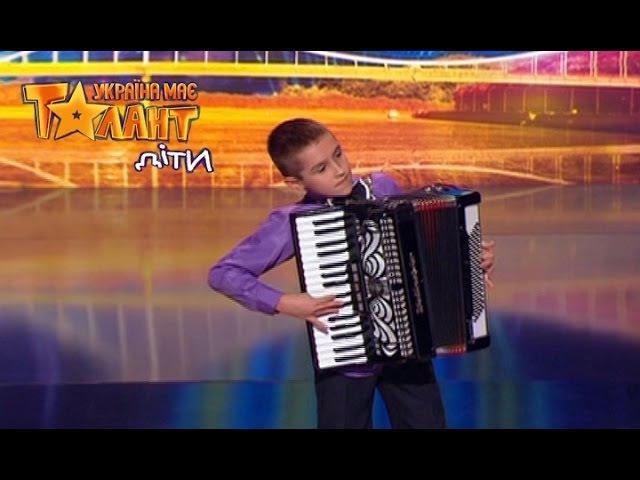 Влад Грицун Україна має талант Діти 2 Выпуск 8 Восьмой кастинг от 22 04 2017