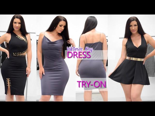 Dressy Dresses | Try-on Haul at Iza Apparel with Viktoria Kay