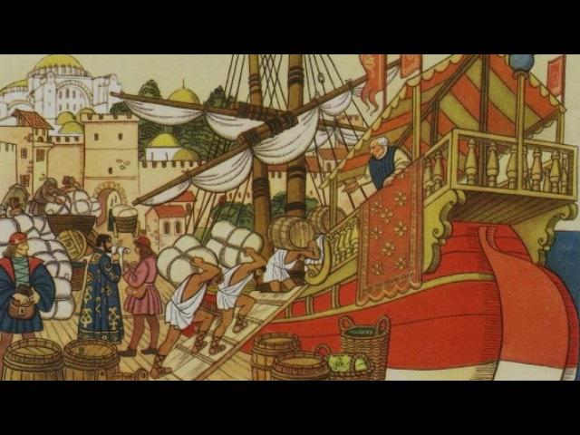 Средневековая торговля рассказывает историк Сергей Карпов
