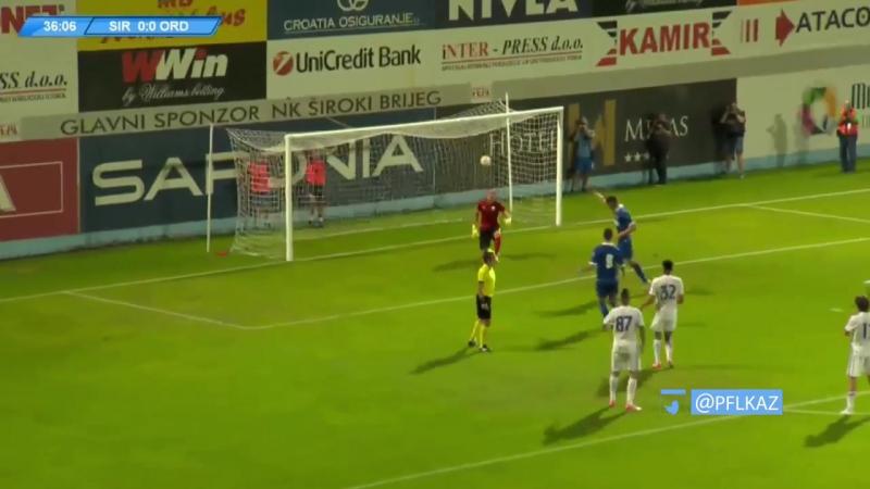 35 EL 2017 2018 Široki Brijeg FK Ordabasy 2 0 29 06 2017 HL