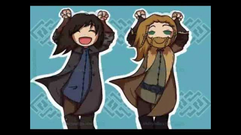 Kili and Fili Caramelldansen
