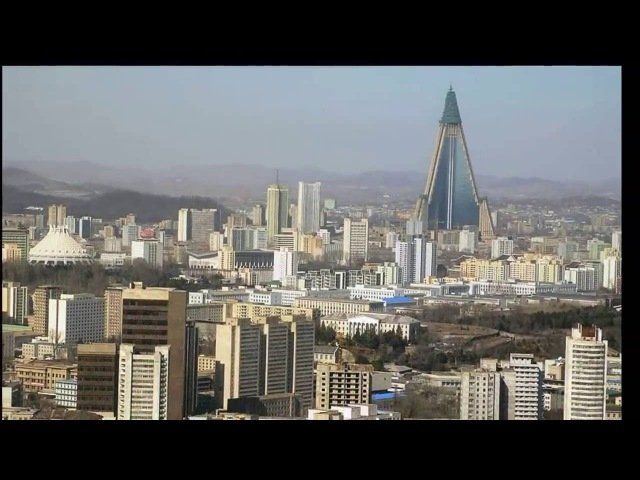 Ryugyong Hotel Pyongyang North Korea in Only 3 Minutes HD