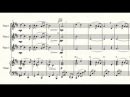 Moon River, by Henry Mancini, arranged for three flutes and piano by Brett Thompson