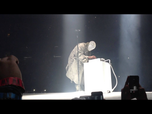 Kanye West Runaway Yeezus Tour 2013
