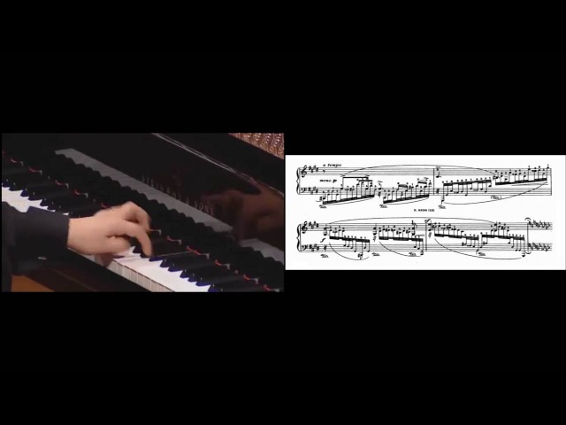 Chopin Godowsky Study No 13 in E flat minor after Op 10 No 6