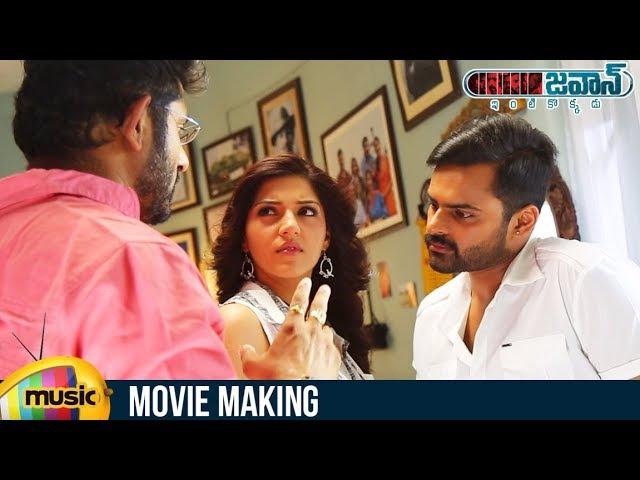 Jawaan Movie Making Sai Dharam Tej Mehreen Pirzada Thaman S BVS Ravi Mango Music