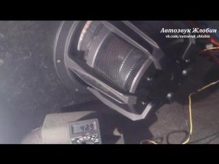 """Тест самодельной звуковой катушки от """"Автозвук Жлобин"""" (короткая версия)."""