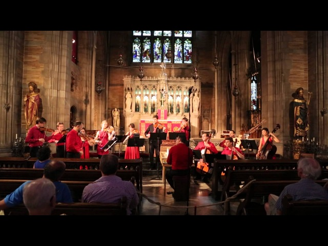 Vivaldis Concerto in B minor for 4 violins and cello, performed by New York Baroque Incorporated