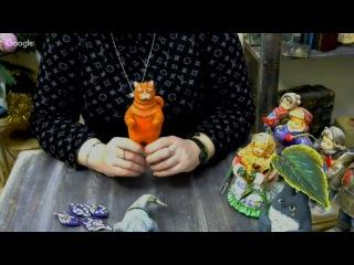 Елена Васько. ватные игрушки на новый год -   котейка!