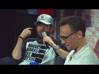 Nerd HQ 2016: A Conversation with Tom Hiddleston