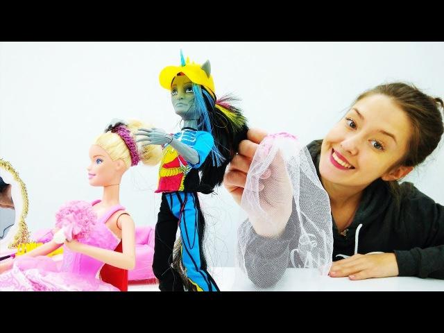 СВАДЬБА БАРБИ: кто испортил свадебное платье Барби? Видео и игры для девочек