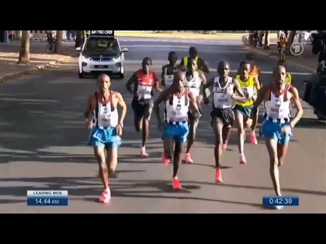 Marathon Worldrecord 2 02 57 Dennis Kimetto Berlin Marathon 2014