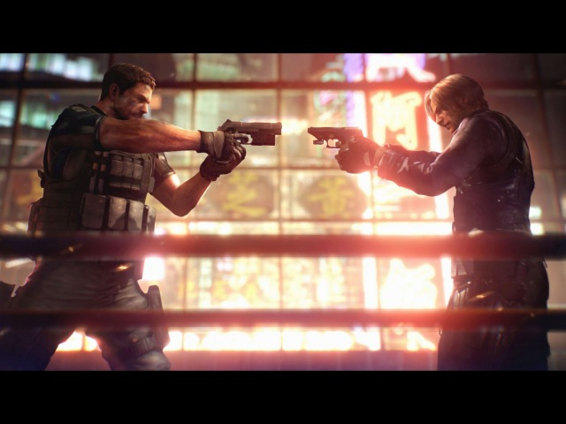 Resident Evil 6 - Leon Vs Chris