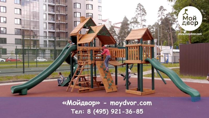 Видеообзор детской игровой площадки Playnation Горец 3