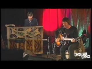Oasis Noel Gallagher e Gem live in Paris 28-11-2006 parte 1