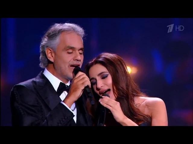 Зара и Андреа Бочелли Молитва Zara and Andrea Bocelli The Prayer