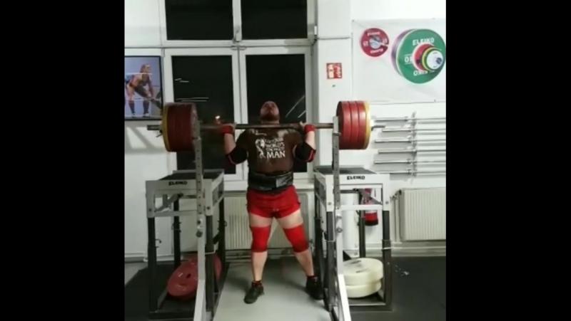 Матиас Белшак (Словения), швунг оси Аполлона со стоек - 200 кг 💪, подготовка на АК - 2018 💪