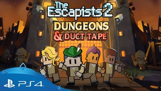 The Escapists 2 | Dungeons and Duct Tape | PS4