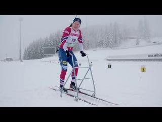 Пародия на норвежских лыжников