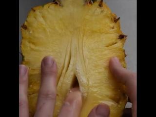Развратный ананас , что может быть лучше   tasty , food time , food porn