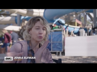 'waterpark walkers' behind the scenes ep. 404 | fear the walking dead