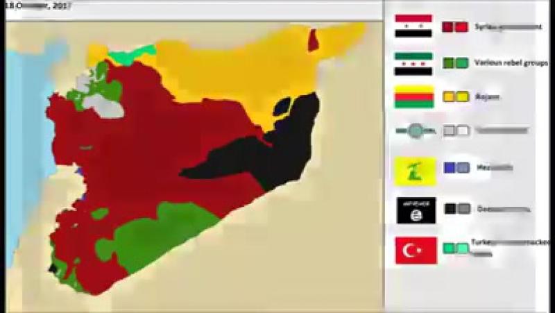 Сирия 2011 -- 2017
