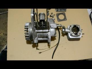 """Обзор двухтактного двигателя от культиватора """"Крот"""". Хорошая основа для самоделки."""