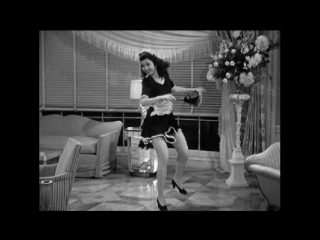 Ann miller on her tap dance toes
