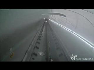 Virgin разрабатывает собственный Hyperloop Компания опубликовала видео первых испытаний сверхскоростного вагона
