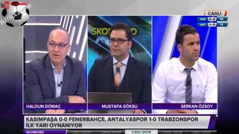 Kasımpaşa 0 1 Fenerbahçe maçı ilk yarısı Skorbord yorumları