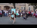 День города Воронеж 2015 г Фристайл девушки и собаки