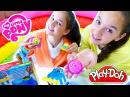 Игры для девочек. КЕКСЫ для Радуги Дэш и Эпл Джек от Подружек! Плей До Видео. Игрушки Май Литл Пони