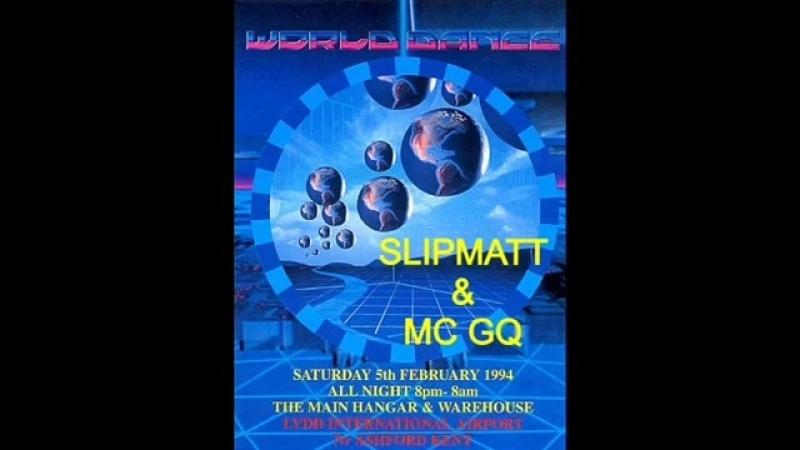 Slipmatt Mc GQ @ World Dance @ Lydd Airport 5th February 1994