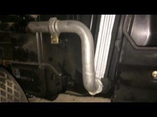 Rover 75. Снимаем радиатор отопителя (печка) салона