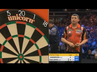 Gary Anderson vs Mensur Suljovic (Champions League of Darts 2017 / Final)