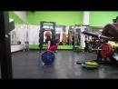 Юлия Зауголова - фитнес-тяга 160х5 (без ремня)
