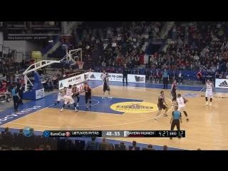Баскетбол. Еврокубок   Летувос Ритас 85-87 Бавария
