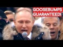 WATCH and LISTEN Putin Sings Russian National Anthem With 130 000 People!