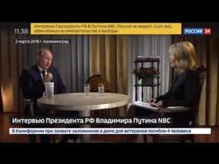 Меган Келли-интервью Путина